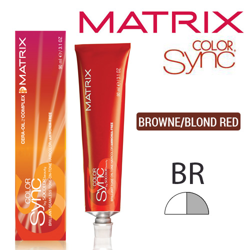 COLOR SYNC BROWNE/BLOND RED 4BR 6BR