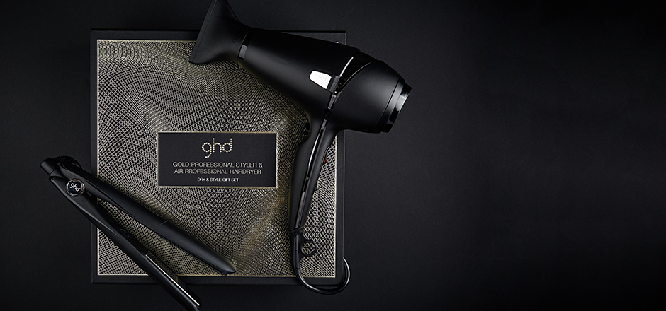 kit ghd deluxe gold piastra asciugacapelli e styler